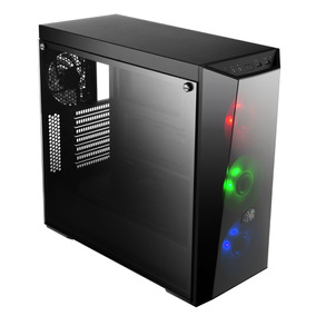 Caja Atx Cooler Master Masterbox Lite 5 Rgb + Fuente 600w