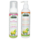 Aleva Naturals 2 En 1 Pelo Y Body Wash Y Daily Calmante Hidr