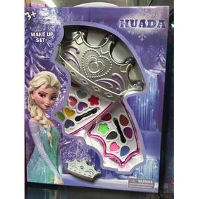 Kit Com 3 Estojo De Maquiagem Para Criança Brinquedo Make Up