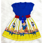 Roupa Branca De Neve Fantasia/vestido