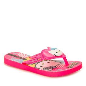 Chinelo Infantil Ipanema Hello Kitty - 23 Ao 32 - Pink