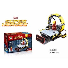 Set Lego Com Boneco Incluso Iron Man Homem De Ferro 217 Peçs