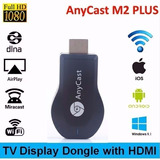 Adaptador 2017 Anycast Chromecast Hdmi Transforma Tv