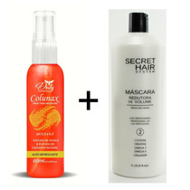 Colunax + Máscara Redutora Secret Hair System
