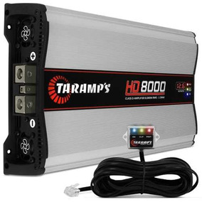 Taramps Hd8000 8000wrms Amplificador Digital Modulo 1 Ohm