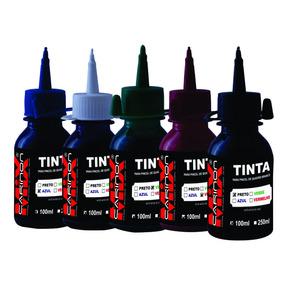 Tinta Carinon Mix Para Pincel De Quadro Branco 100 Ml + Bico