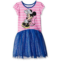 Bello Vestido Disney De Disney Minnie Mouse Talla 5