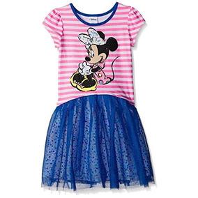 Bello Vestido Disney De Disney Minnie Mouse Talla 5