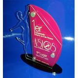 Trofeos Reconocimientos En Acrilico Placas Impreso A Color