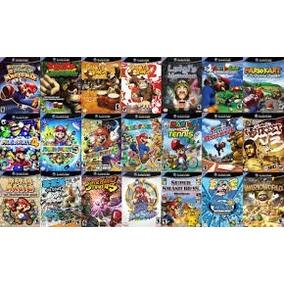 Nintendo Gamecube Pack Com Mais De 600gb Em Jogos