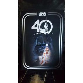 Star Wars Celebration 40 Aniversario Poster Original