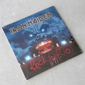 Vinil Lp Iron Maiden Rock In Rio 3-lps Remasterizado Lacrado