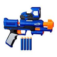 Pistola Dardos De Juguete Nerf + Mira Electronica + 4 Dardos