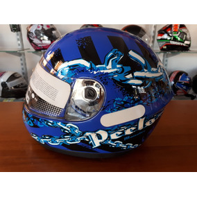 Capacete Peels Spike Moster Azul 58