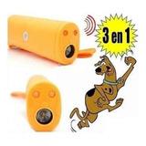 Pack 4 Repelente Auyentador Entrenador Perros Con Linterna