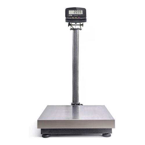 Balança comercial digital Toledo 2099 120kg com mastro 110V/220V prateado