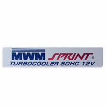 Emblema Motor Mwm Da S10 S-10 S 10 Sprint Turbo Cooler 12v
