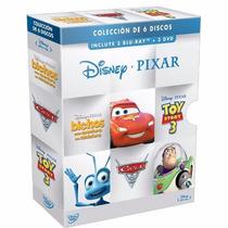 Set De Peliculas Blue Ray Disney Pixar