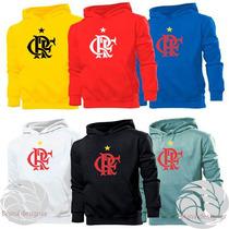 Blusa Flamengo Time Canguru Com Capuz