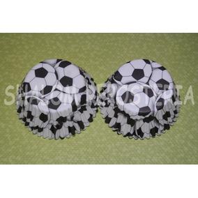 *capacillos Balones Futbol Soccer Cupcake Fondant*