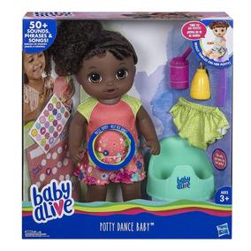 Baby Alive Potty Dance Baby (negra)- A Pronta Entrega