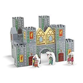 Castillo Medieval. Bloques De Madera. Melissa & Doug