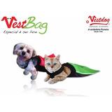 Saco Protetor Para Cães E Gatos - Vest Bag