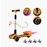 Scooter Patin Del Diablo Con Rocket Spray Y Bocina Bluetooth