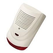 Sirena Exterior Tipo Strobo Para Alarmas, Autoalimentada