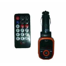 Mp3 Reproductor Transmisor Modular Musica Para Carro Auto