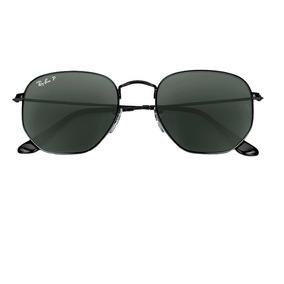 Ray Ban Rb3548n 002 58 Hexagonal Óculos De Sol Tam. 5,4 Cm