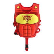 Flotador Niño Super Neohero Red Power De Neo Splash