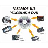 Convertimos Películas Beta Vhs Hi8 8mm Mini Dv Pago Directo