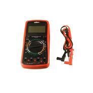 Multimetro Tester Digital Udovo Ac Dc Data Hold Display Led