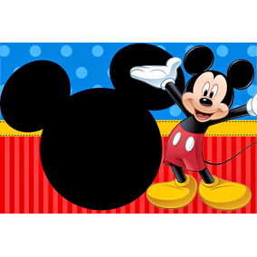 Painel Lona Mickey 2,00 X 1,50 Mts Banner.displays
