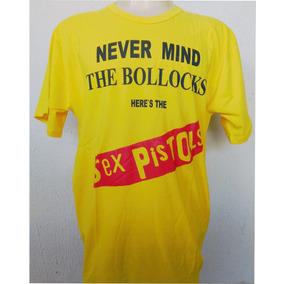 Camiseta Camisa Banda De Rock - Sex Pistols