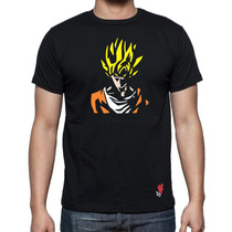 Playeras Buga Cavernicola Dragon Ball Z Goku Vegeta Freezer