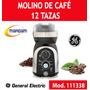 Molino De Cafe 12 Tazas Aspas De Acero Inox General Electric