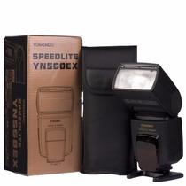 Novo Yongnuo Yn-568ex P/ Nikon + Difusor Brinde Equiv. Sb910