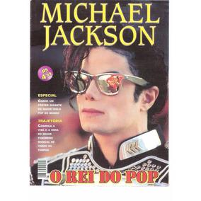 Michael Jackson - O Rei Do Pop - Revista Poster