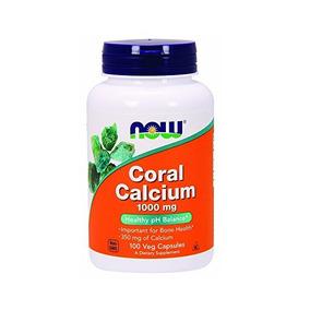 Ahora Coral Calcio 1000 Mg, 100 Veg Cápsulas