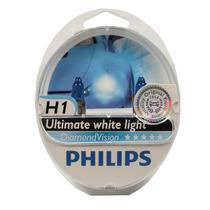 Lâmpadas Philips Diamond Vision 5000k Super Branca H1