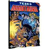 Teseo Y El Minotauro - Novela Grafica - Latinbooks