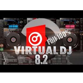 Virtual Dj 8.2 Full Compatible Todos Los Controladores+skins