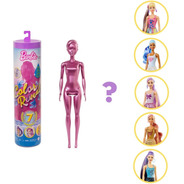 Barbie Color Reveal Con Set De 7 Sorpresas Muñeca Mattel