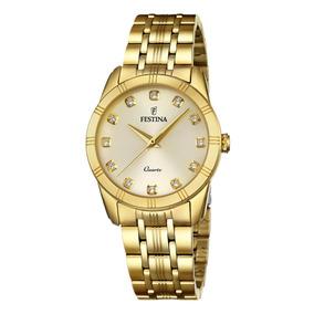 a73565a688fd Reloj F16942 1 Dorado Festina Mujer Boyfriend Collection por Festina Group