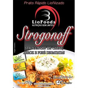 Refeição Kit Strogonoff De Carne, Arroz E Purê De Batatas