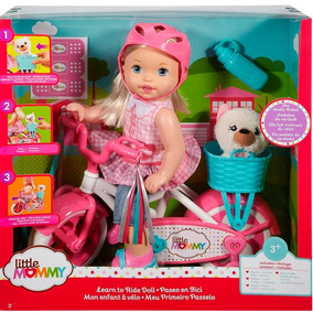 Boneca Little Mommy Passeio De Bicicleta - Mattel