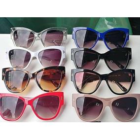 8834e78650cc0 Oculos De Sol Gatinho Fem. Grande Tom Frete Grátis E Brinde. R  120