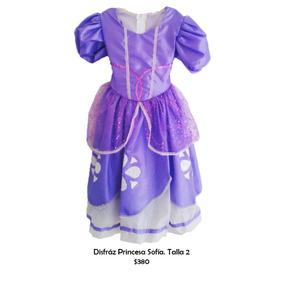 Disfraz De Princesa Sofía, Para Niñas